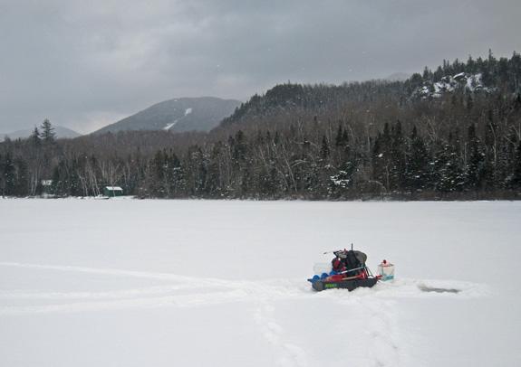 Fishing lake placid ny for Ice fishing ny