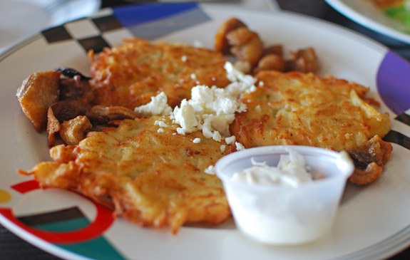 Bacon And Cheese Pancakes images