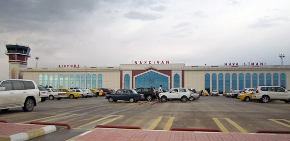 Аэропорт Нахичевань (Nakhichevan Airport).2