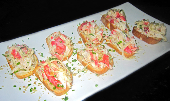 Russian Cuisine - King Crab Salad