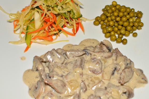 Azeri Cuisine - Baku Palace - Stroganoff