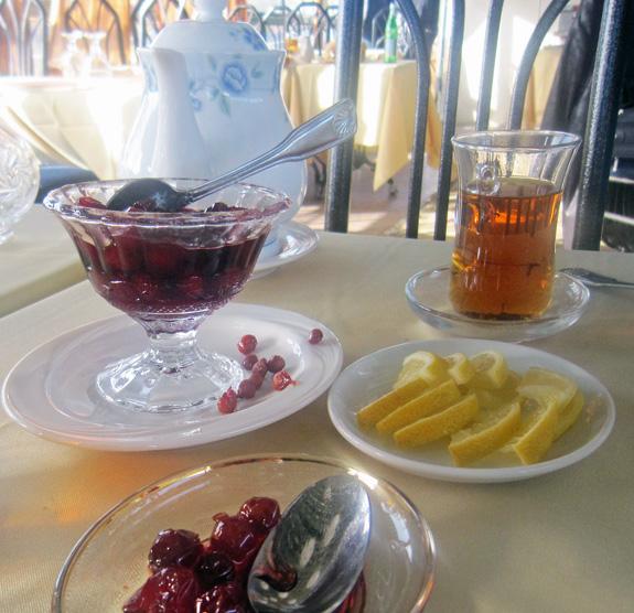 Azeri Cuisine - Baku Palace - Tea