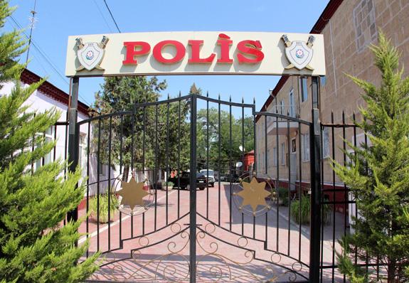 Azerbaijan Travel - Quba - Police Station