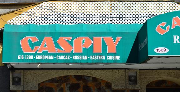 Russian Cuisine - Caspiy