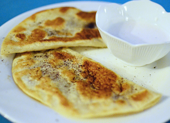 Russian Cuisine - Caspiy - Kutab