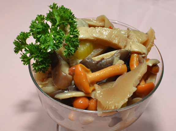 Russian Cuisine - Caspiy - Marinated Mushrooms