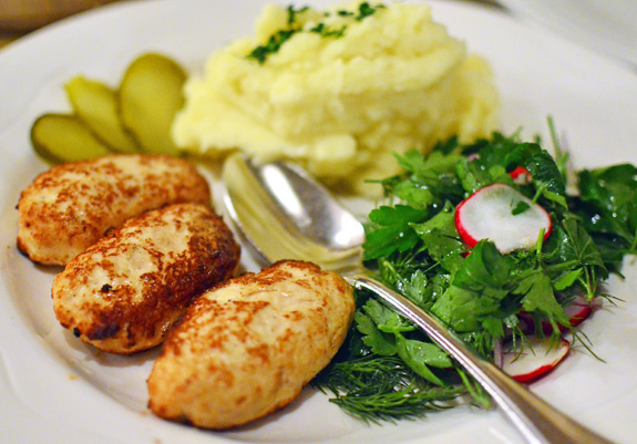 Mari Vanna - Chicken Cutlets