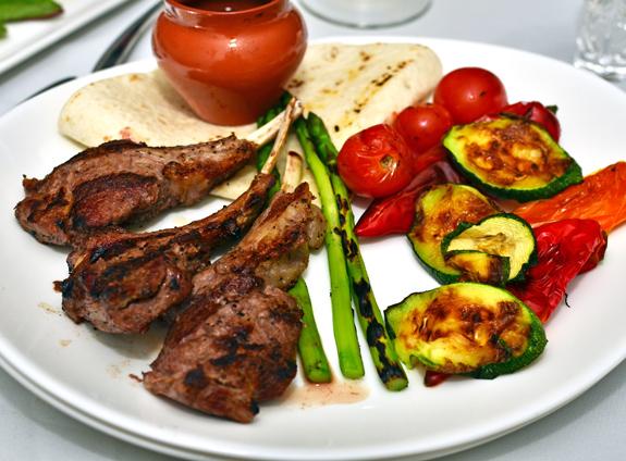 Georgian Cuisine - Pepela - Lamb Chops