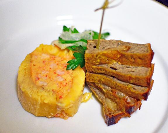 Russian Food - Lake Trout and Crawfish Ballotine