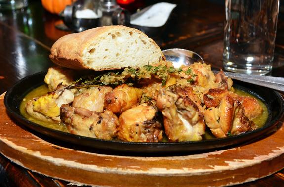 Georgian Cuisine - Oda House - Chkmeruli