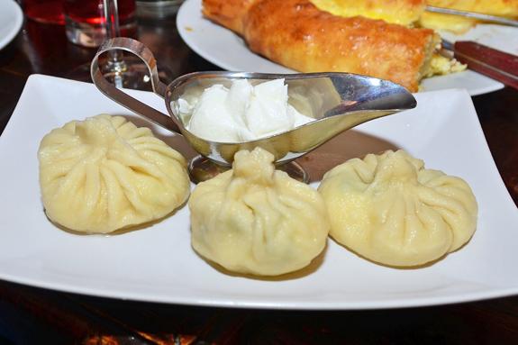 Georgian Cuisine - Oda House - Khinkali