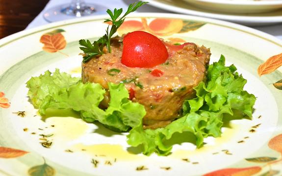 Restaurant Vatra Neamului - Eggplant Caviar