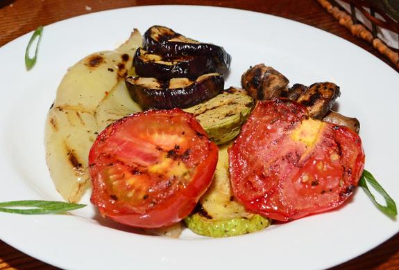 Restaurant Orasul Vechi - Grilled Vegetables