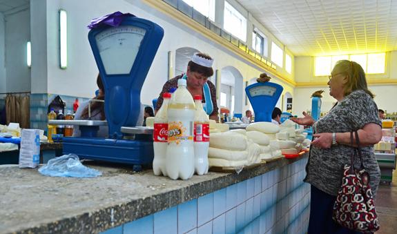 Chisinau Central Market - Dairy