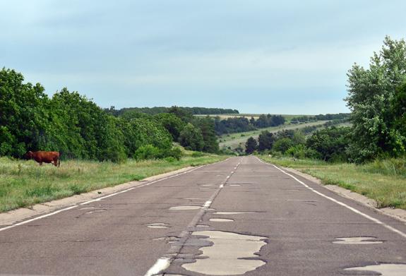 Transnistria - Road to Tiraspol
