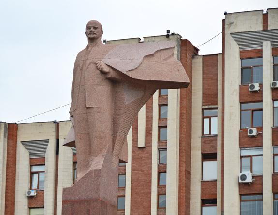 Tiraspol - Lenin Statue