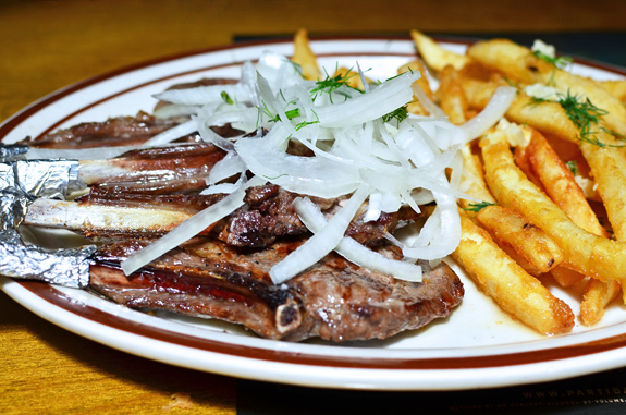 Uzbek Cuisine - Kebeer - Lamb Chops