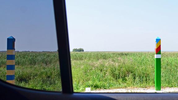Road to Vylkove - Ukrainian-Romanian Border