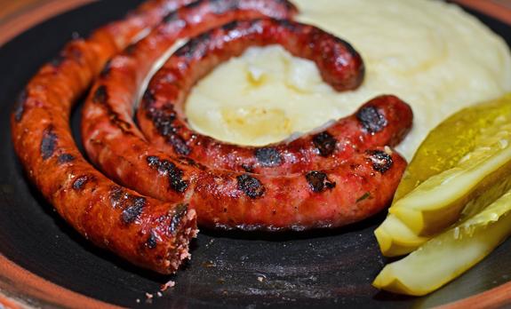 Czech Cuisine - Hospoda - Sausages
