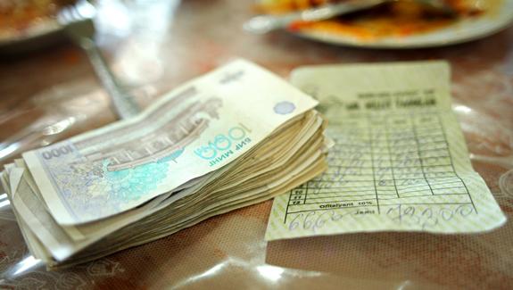 Tashkent - Paying Cash